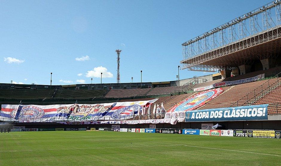 Com Fonte Nova abrigando hospital de campanha, Pituaçu voltou a ser casa do Bahia durante a temporada 2020