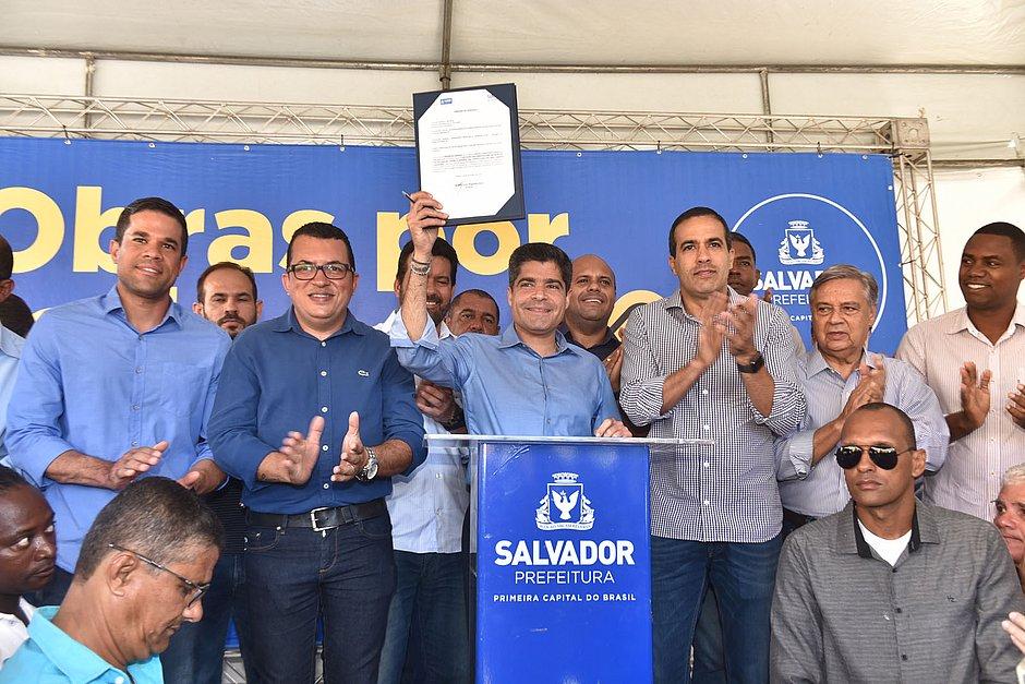 Menos trânsito: Pau da Lima terá nova avenida de R$ 9 mi em 2020