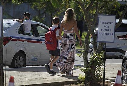 Volta às aulas: ensino privado tem primeiro dia de acolhimento