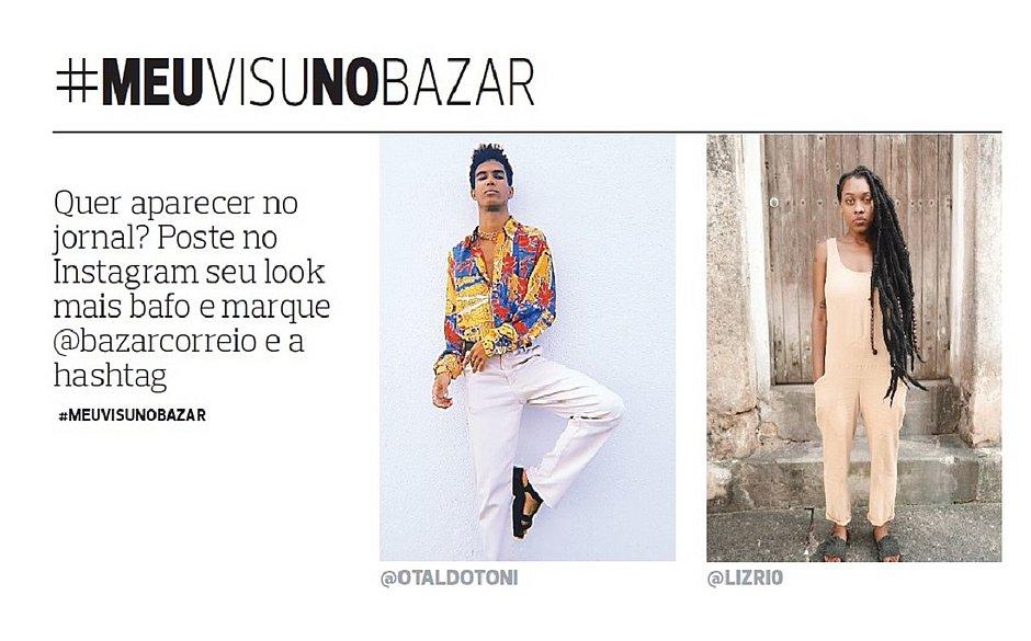 Visu: mix de looks urbanos com toque étnico se destacam entre os fashionistas de Salvador