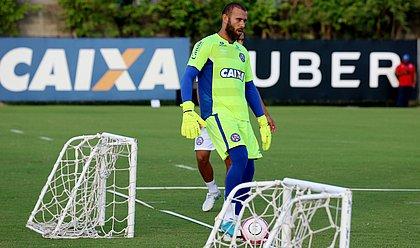 Rafael Santos fez apenas duas partidas com a camisa do Bahia