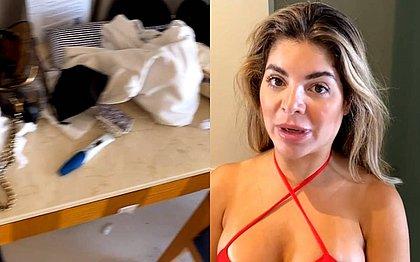 Flagra: amigo registra teste de gravidez entre produtos de GKay