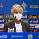 Pia Sundhage convocou a seleção brasileira feminina para os amistosos contra a Argentina
