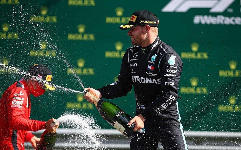 Bottas vence GP da Áustria, primeira corrida da Fórmula 1 em 2020
