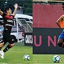 Léo Ceará e Ramires comandaram as principais ações do último Ba-Vi da temporada