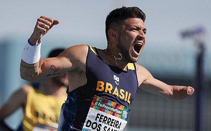 Brasileiro se torna o paralímpico mais rápido do mundo