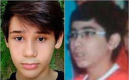 João Pedro Calembo (à esquerda) e João Vitor Gomes morrem após tiros em escola de Goiânia