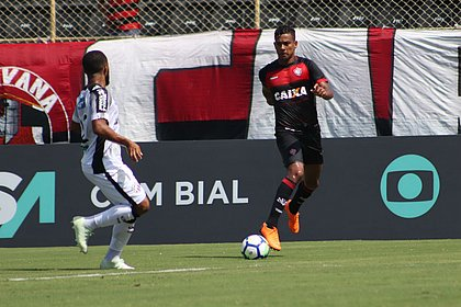 Wallyson marcou seu primeiro gol com a camisa do Vitória