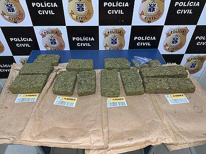 Polícia prende traficante de Vitória da Conquista que recebia drogas pelo Sedex