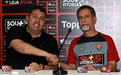 Novo gerente de futebol do Vitória quer chegar à Série B 'em paz'