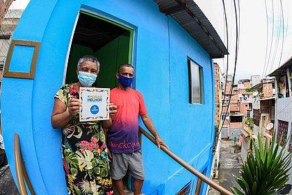 Pernambués terá mais 200 casas reformadas por programa da prefeitura