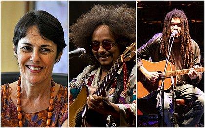 Chico Brown, Chico César e Ana de Hollanda na Feira Literária de Mucugê
