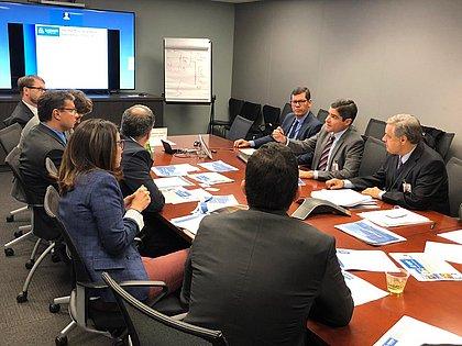 ACM Neto faz reunião com diretores do Banco Mundial em Washington