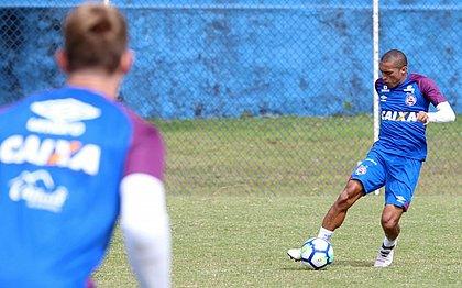 Nino está recuperado de contusão e vira opção para jogo contra o América-MG