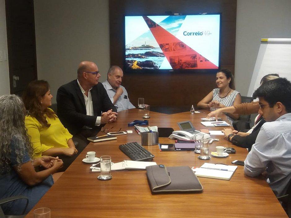 Julio Ribas, diretor-presidente do Aeroporto, visitou a Rede Bahia nesta sexta (23)