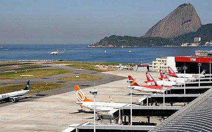 Bandidos roubam terminal de cargas no Aeroporto Tom Jobim