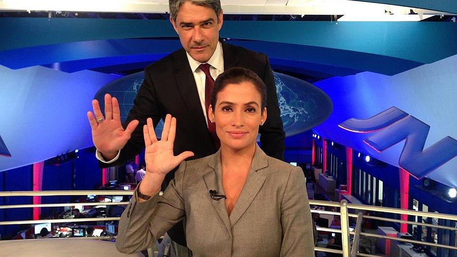 Globo manda Bonner e Renata trabalharem aos sábados no JN - Jornal CORREIO | Notícias e opiniões que a Bahia quer saber