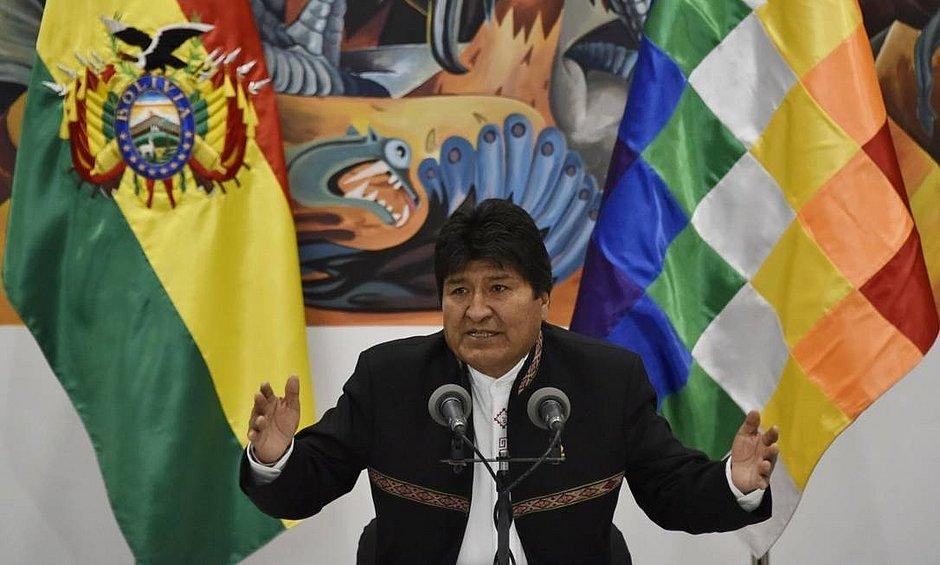 Itamaraty não reconhecerá, 'neste momento', resultado de eleições na Bolívia
