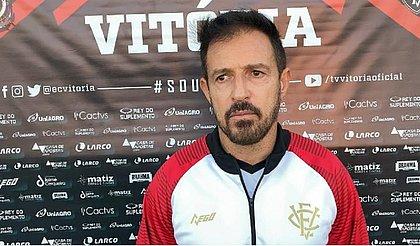 Ramon Menezes concedeu primeira entrevista como técnico do Vitória