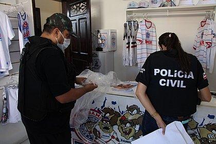 Polícia prende homem e apreende munições na sede da Torcida Organizada Bamor