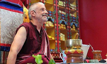 Lama Padma Samten: palestra em Salvador