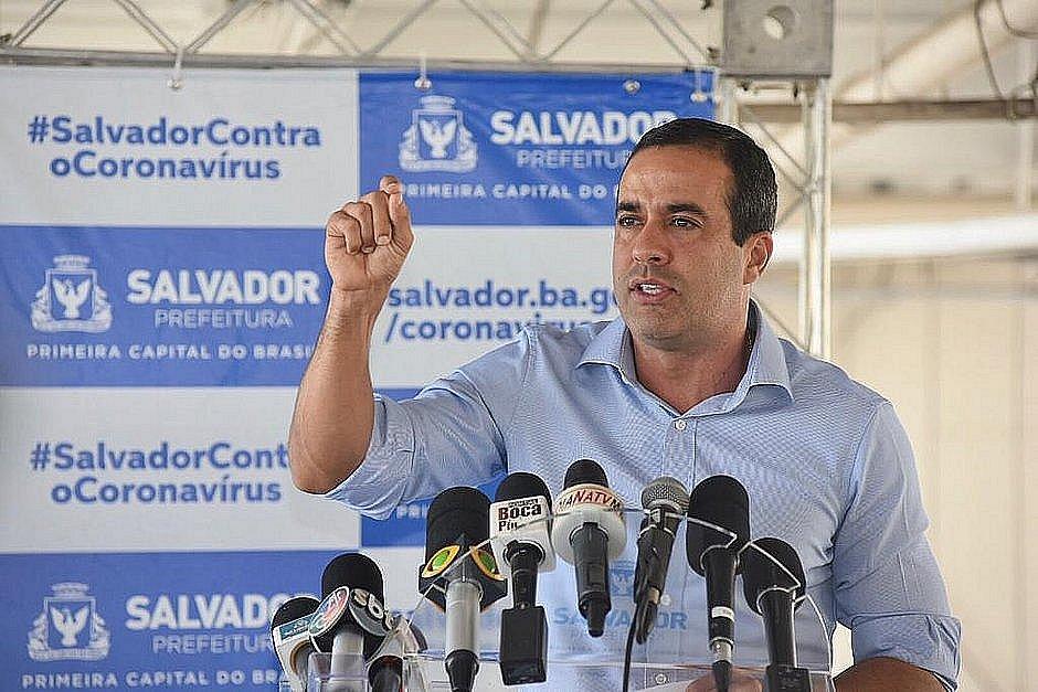 Pesquisa: Bruno Reis larga na 'pole position' para eleições 2020