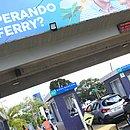 Na alta estação, as queixas de passageiros do ferryboat aumentam
