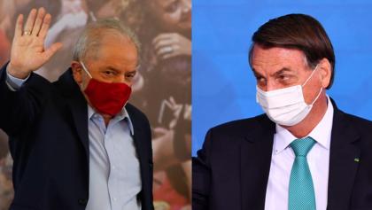 Datafolha: Lula segue à frente de Bolsonaro, com 56% contra 31% no 2º turno