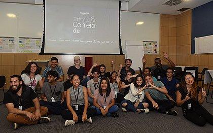 Estudantes participaram de workshop