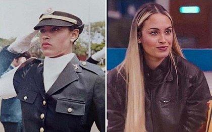 Jeito espiã de Sarah do BBB21 é herança da mãe, ex-policial do Bope
