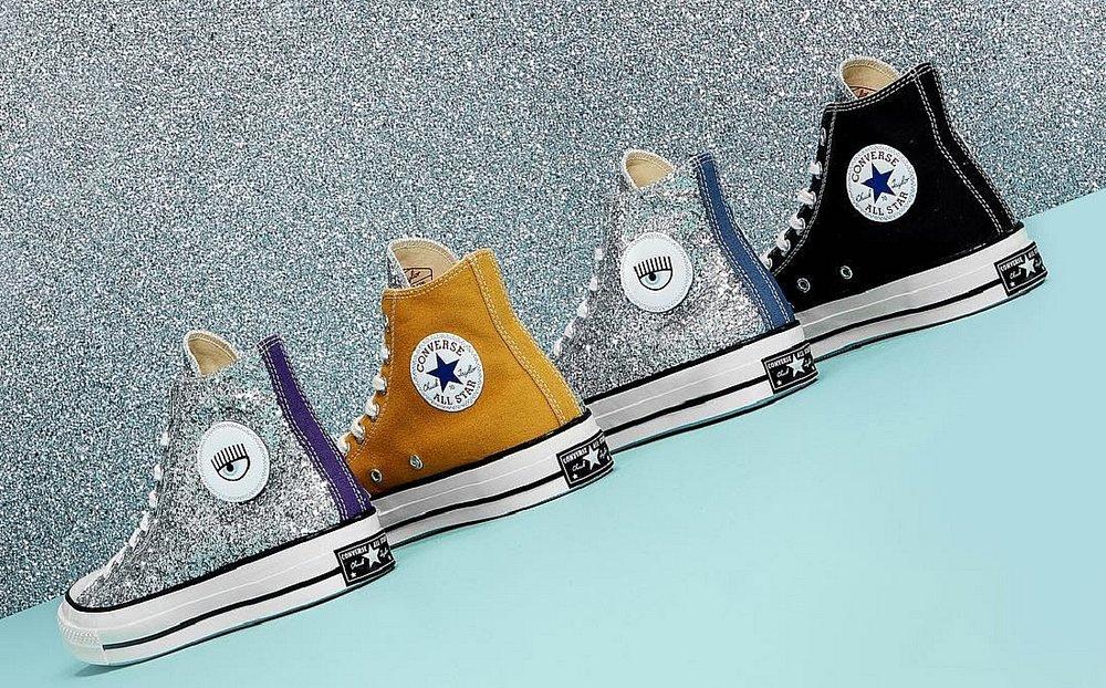 2a5f67ba3f4 All Star ganha coleção brilhante com vários tênis de glitter ...