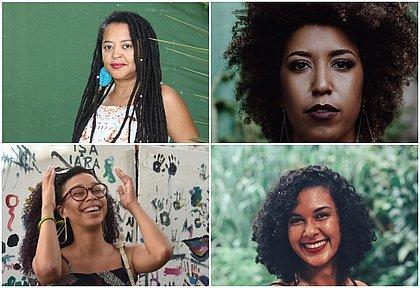 No sentido horário: Ivana Magalhães, Tatá Ribeiro, Marília Reis e Caroline Ribeiro