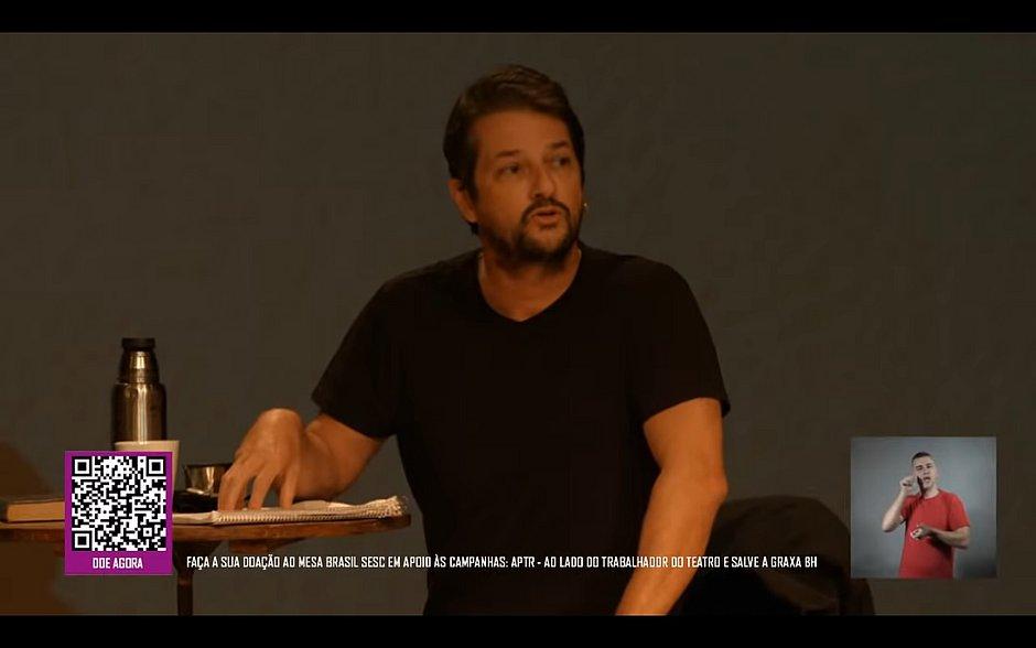 Marcelo Serrado em Os Vilões de Shakespeare