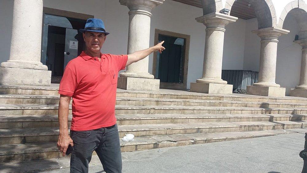José Augusto aguardando desenrolar da situação dos taxitas com os aplicativos de transportes. (Foto: Eduardo Dias/CORREIO)