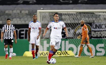 Danilo Fernandes, no fundo, barrou Matheus Teixeira e assumiu condição de titular do Bahia