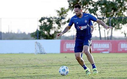 Artilheiro do Brasileirão com sete gols, Gilberto é a principal arma do Bahia para vencer o Atlético-MG