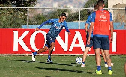 Tricolor treinou no CT Evaristo de Macedo e fechou a preparação para pegar o Atlético-MG