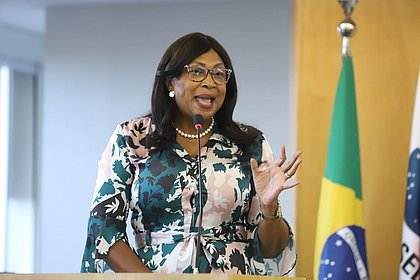 Sílvia Cerqueira, baiana presidente da Comissão Nacional da Igualdade Racial