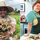 Paru: vegetais são suficientes para uma vida saudável; Sista Kátia bate na tecla: vegetarianismo não é sinônimo de alimentação saudável