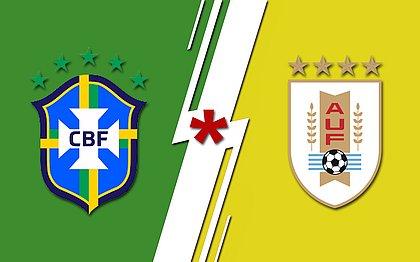 Brasil x Uruguai: onde assistir, escalações, horário e arbitragem