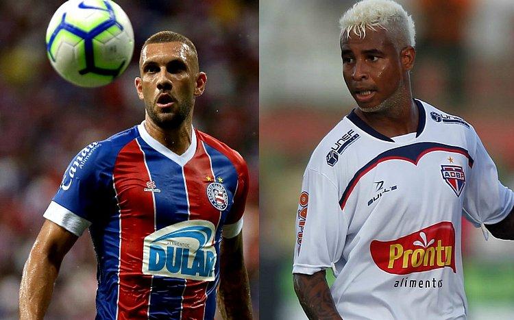 Bahia e Bahia de Feira se enfrentam na final do Campeonato Baiano