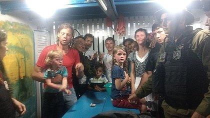 Família americana foi resgatada por ribeirinhos da Ilha de Marajó, no Pará