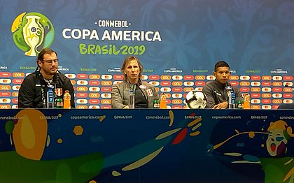 Ricardo Gareca mostrou confiança antes de pegar o Brasil na final da Copa América