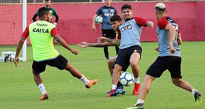 Léo Ceará, que marcou diante do Atlético, é uma das esperanças de gol do Leão