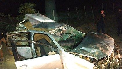 Quatro homens morrem em acidente de carro na BA-148