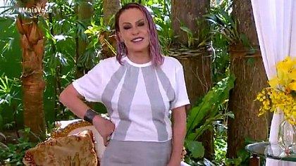 Ana Maria Braga homenageia Tom Veiga no 'Mais Você'