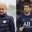 Guardiola e Messi se enfrentarão na Liga dos Campeões