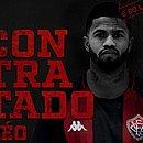 Léo foi anunciado pelo Vitória