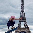 Leticia Bufoni foi a campeã do torneio em Paris