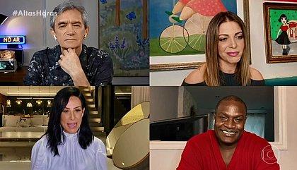 Scheila Carvalho e Jacaré relatam preconceito na época do É o Tchan: 'jogavam latas'